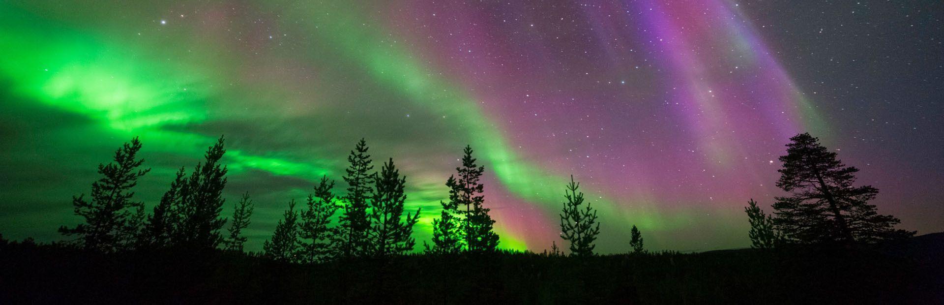 Lapponia: a caccia dell'aurora boreale