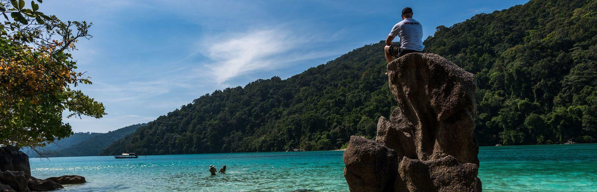 Thailandia beach life and summer island discovery