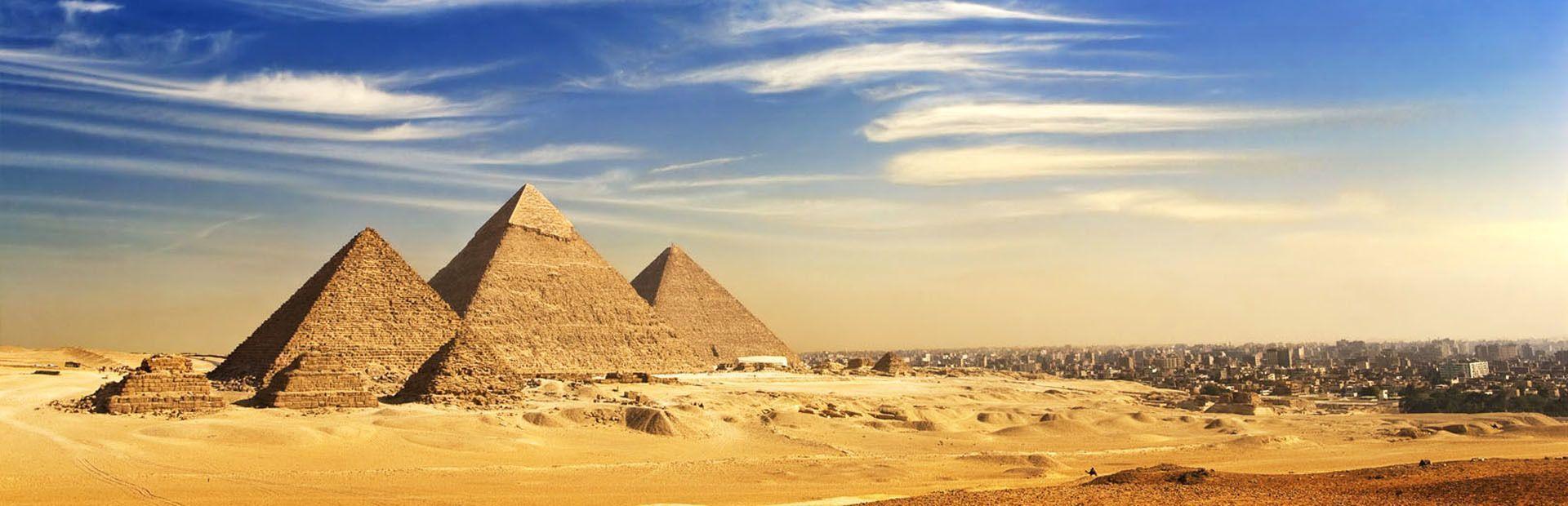 Egipto: de las pirámides al Valle de los Reyes