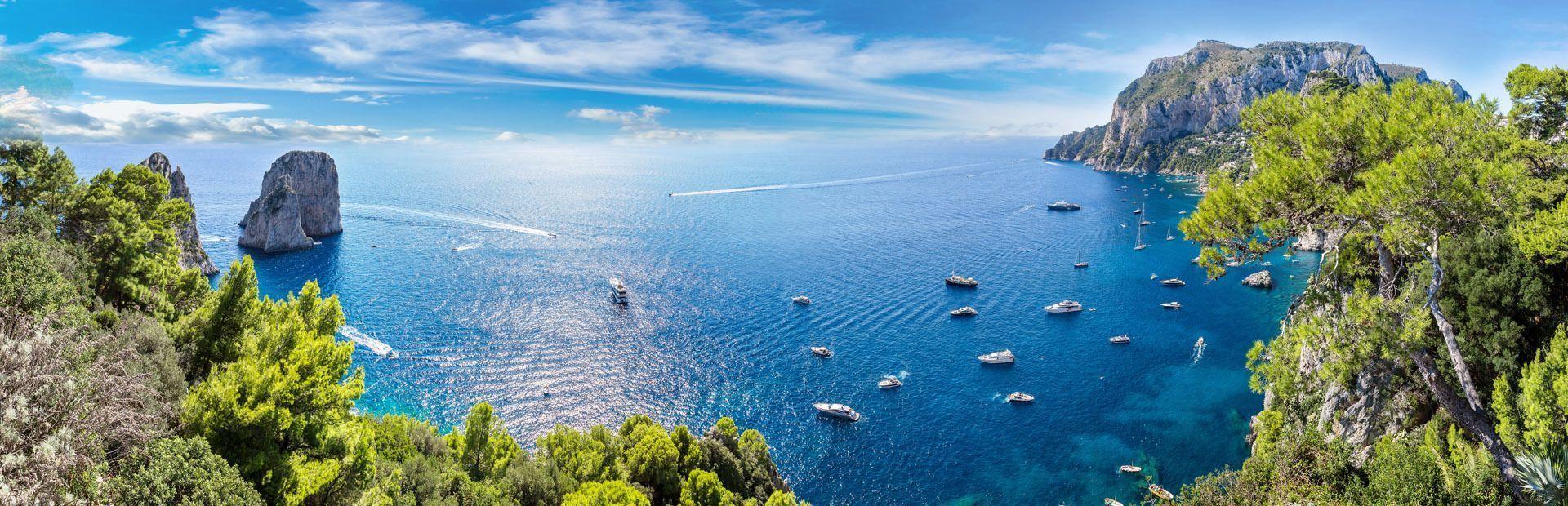 Campania: del Vesubio a la Isla de Capri